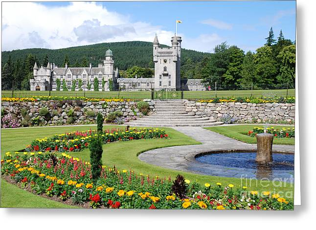 Balmoral Greeting Cards - Balmoral Castle in Summer Greeting Card by Phil Banks