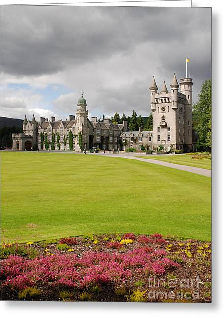 Balmoral Greeting Cards - Balmoral Castle - Scotland Greeting Card by Phil Banks