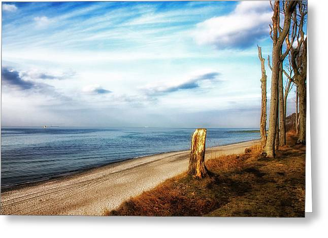 Baltic Sea Greeting Cards - Baltic Relaxation Greeting Card by Mountain Dreams