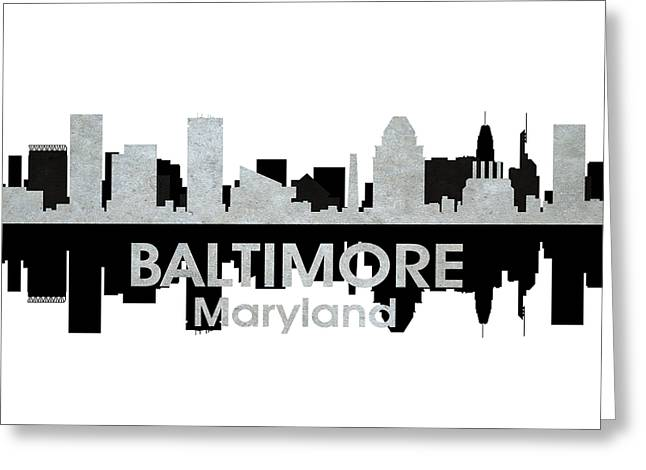 Baltimore Md 4 Greeting Card by Angelina Vick