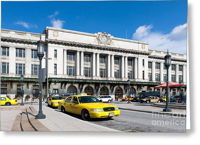 Queue Greeting Cards - Baltimore Pennsylvania Station III Greeting Card by Clarence Holmes