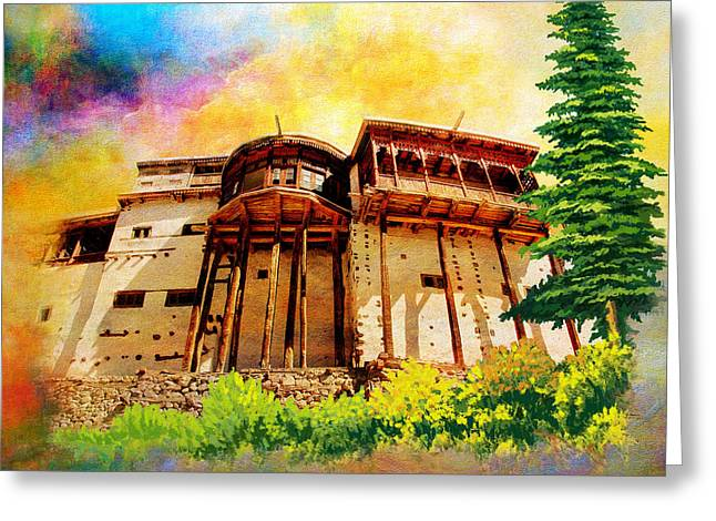 Baltit Greeting Cards - Baltit Fort Greeting Card by Catf
