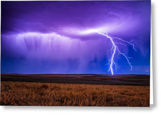 Thunderstorm Greeting Cards - Bam Greeting Card by Bryce Bradford