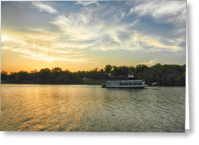 University Of Alabama Greeting Cards - Bama Belle Sunset Greeting Card by Ben Shields