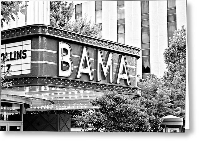 Crimson Tide Photographs Greeting Cards - Bama Greeting Card by Scott Pellegrin