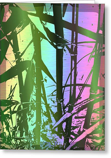 Bamboo Study 8 Greeting Card by Tim Allen