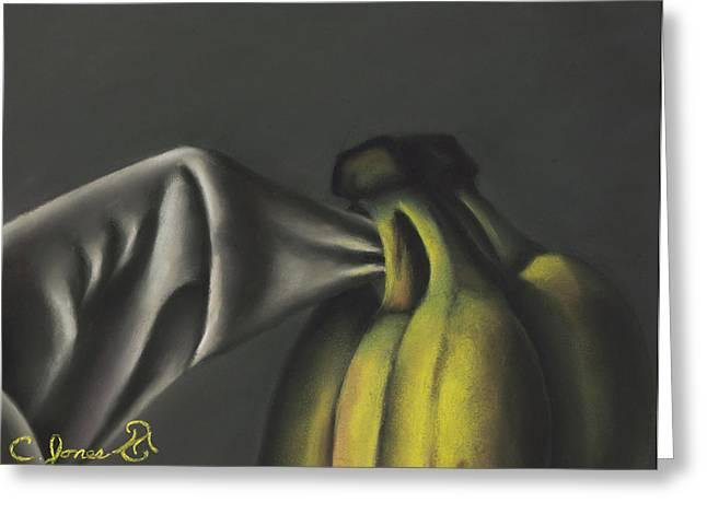 Banana Pastels Greeting Cards - Bananas #2 Greeting Card by Charles T Jones