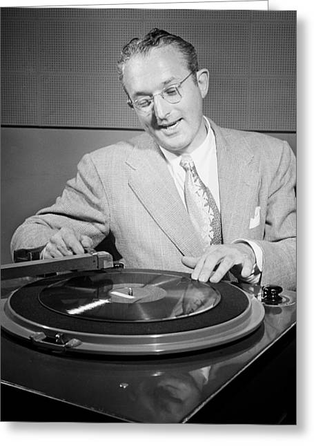 Bandleader Greeting Cards - Bandleader Tommy Dorsey 1947 Greeting Card by Mountain Dreams