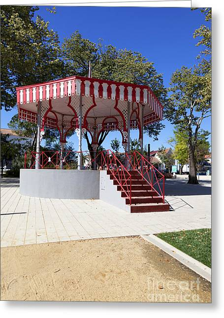 Bandstand Greeting Cards - Bandstand Greeting Card by Jose Elias - Sofia Pereira