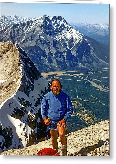 Rundle Greeting Cards - Banff High Greeting Card by Steve Harrington