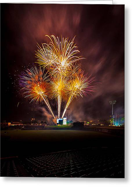 Brighthouse Field Greeting Cards - Big Bang Greeting Card by Jeff Donald