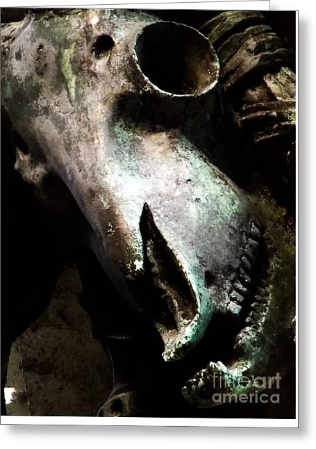 Baal Greeting Cards - Baphomet Greeting Card by James Aiken