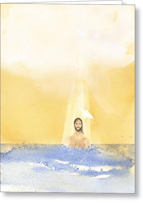Baptism Greeting Card by John Meng-Frecker