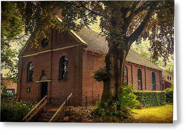The North Greeting Cards - Baptist church in Giethoorn. Netherlands Greeting Card by Jenny Rainbow