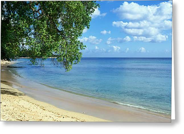 Ocean Panorama Greeting Cards - Barbados Greeting Card by Rod McLean