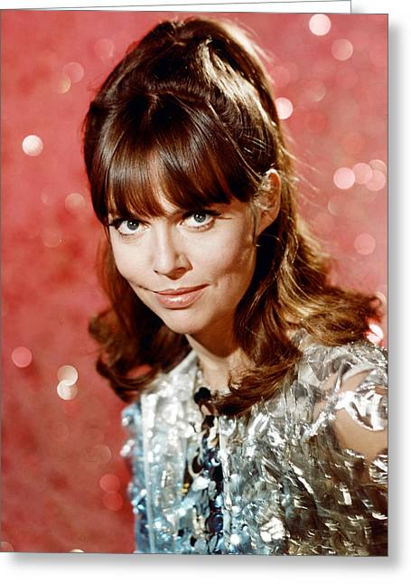 Got Greeting Cards - Barbara Feldon in Get Smart  Greeting Card by Silver Screen