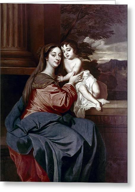 Barbara Palmer (1640-1709) Greeting Card by Granger