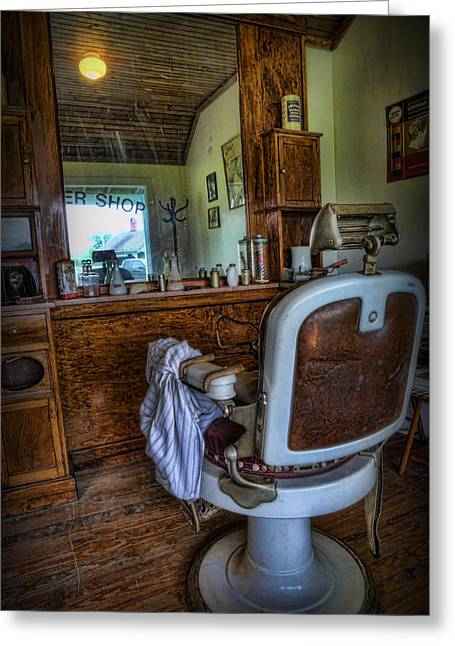 Gift For You Greeting Cards - Barber - Time for a Cut  Greeting Card by Lee Dos Santos