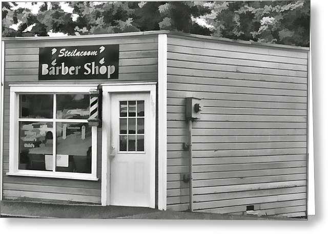 Ron Roberts Photography Photographs Greeting Cards - Barber Shop Greeting Card by Ron Roberts