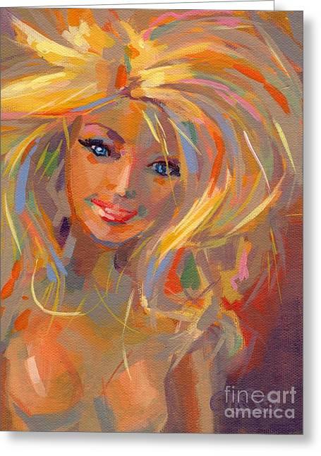 Barbie Greeting Cards - Barbie Licious Greeting Card by Kimberly Santini