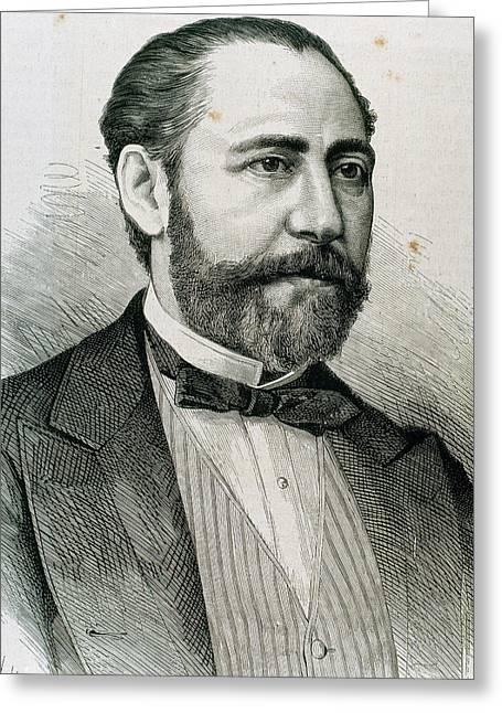 Barbieri, Francisco Asenjo (1823-1894 Greeting Card by Prisma Archivo