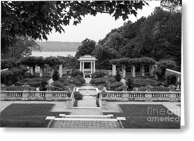 Occasion Greeting Cards - Bard College Blithewood Garden Greeting Card by University Icons