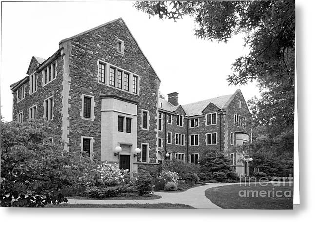 Bard Greeting Cards - Bard College Wardens Hall Greeting Card by University Icons