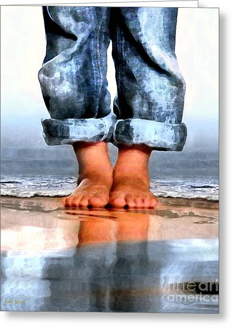 Barefoot Boy   Greeting Card by Dale   Ford