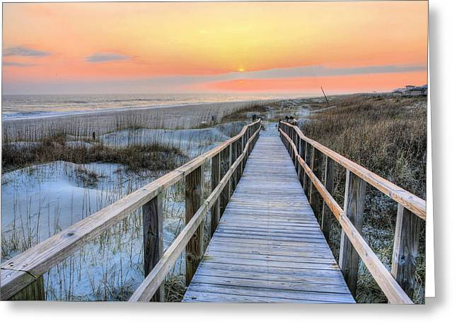 Barefoot Greeting Card by JC Findley