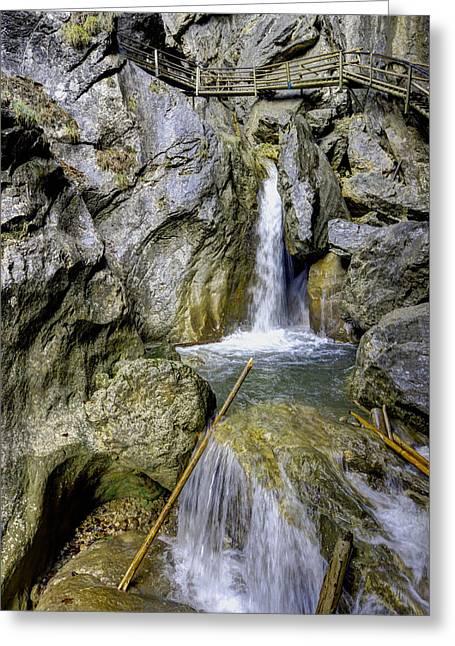 Styria Greeting Cards - Barenschtzklamm Gorge Greeting Card by Ivan Slosar