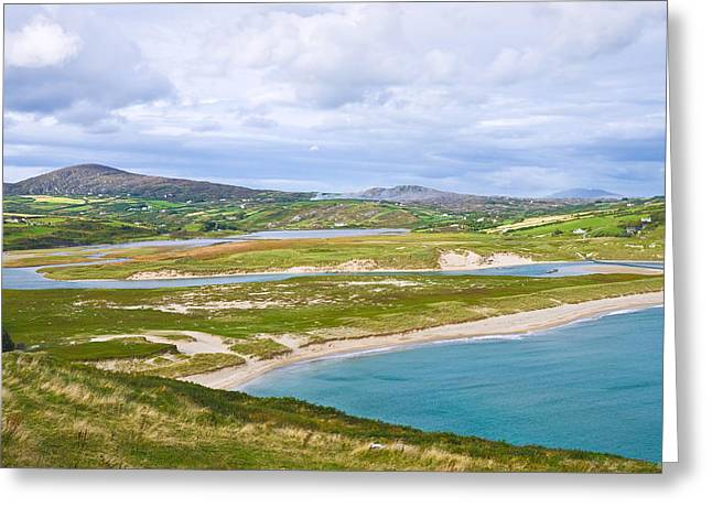 Jane Mcilroy Greeting Cards - Barleycove Beach Cork Ireland Greeting Card by Jane McIlroy