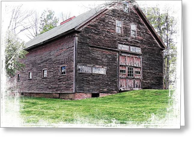 Barn Dance Greeting Cards - Barn 4 Greeting Card by Marcia Lee Jones