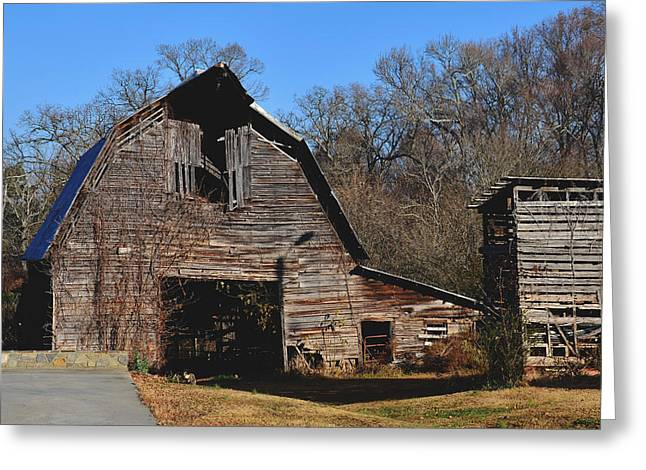 Old 421 Greeting Cards - Barn at Huntsville- 51008586d Greeting Card by Paul Lyndon Phillips
