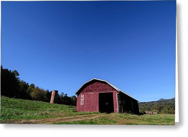 Warren Wilson College Greeting Cards - Barn at Warren Wilson College Greeting Card by Hunter Ward