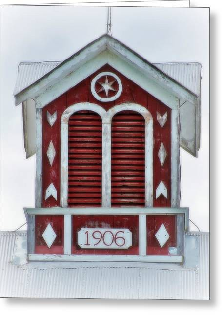 Mr Rodgers Greeting Cards - Barn Cupola from Mr Rodgers Neighborhood Greeting Card by Carol Toepke
