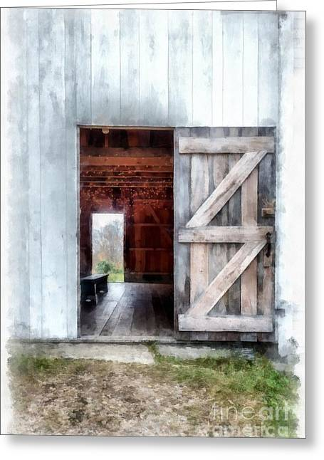 Barn Dance Greeting Cards - Barn Dance Greeting Card by Edward Fielding