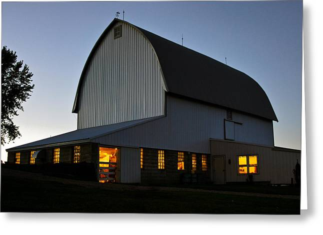Barn Dance Greeting Cards - Barn Dance Greeting Card by Lorianne Ende