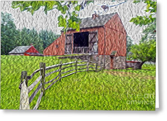 Pa Barns Greeting Cards - Barn Doors Greeting Card by Paul W Faust -  Impressions of Light