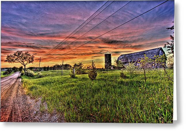 Http Greeting Cards - Barn Finds Greeting Card by Nicholas  Grunas