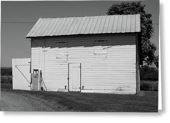 Outbuildings Greeting Cards - Barn Greeting Card by Frank Romeo