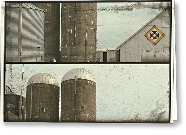Iowa Greeting Cards - Barn Fun Greeting Card by Cassie Peters