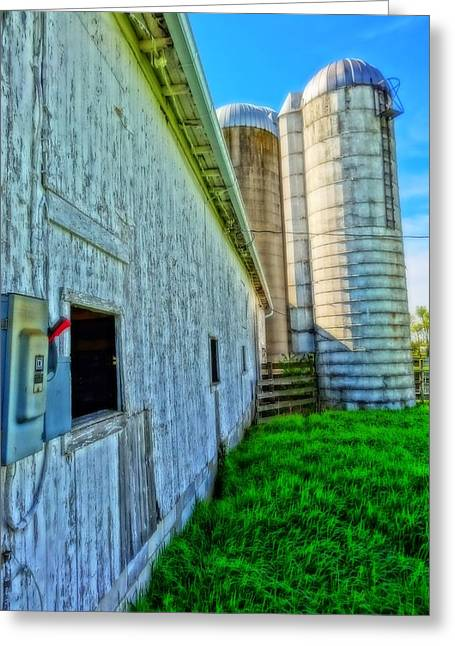 Fusebox Greeting Cards - Barn HDR Greeting Card by Dan Sproul