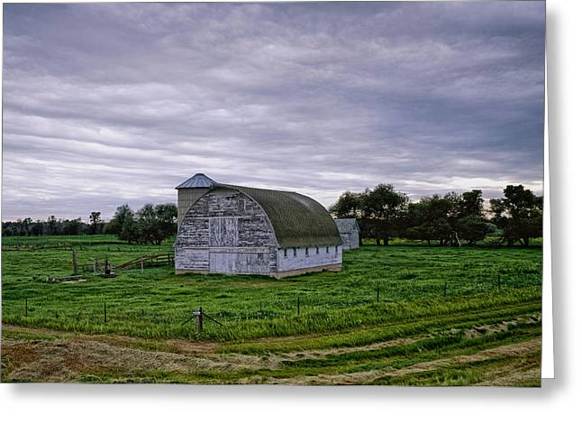 Barn Lots Greeting Cards - Barn in Minnesota Greeting Card by Mountain Dreams