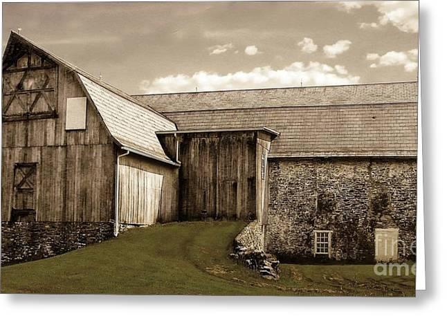 Barn Series 1 Greeting Card by Marcia Lee Jones