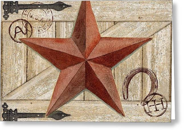 Star Barn Greeting Cards - Barn Star I Greeting Card by Paul Brent