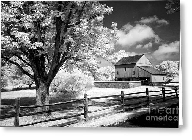 Pa Barns Greeting Cards - Barn yard Greeting Card by Paul W Faust -  Impressions of Light