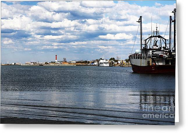 Recently Sold -  - Photo Art Gallery Greeting Cards - Barnegat Bay Side Greeting Card by John Rizzuto