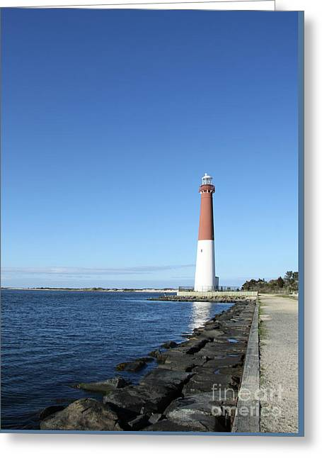 Barnegat Light - New Jersey Greeting Card by Christiane Schulze Art And Photography