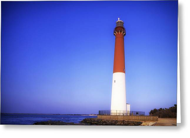 Barnegat Greeting Cards - Barnegat Light - New Jersey Greeting Card by Mountain Dreams