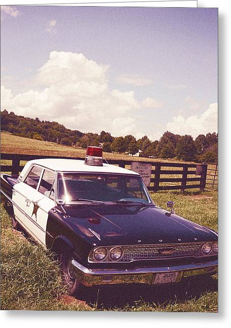 Leipers Fork Greeting Cards - Barney Fife Greeting Card by Tracy W